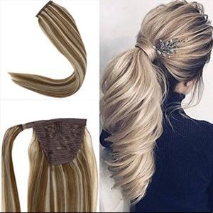 BRAND NEW OMBRÉ WRAP AROUND PONYTAIL EXTENSIONS